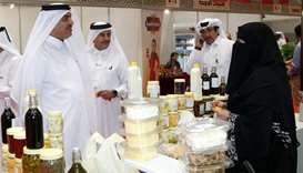 HE the Minister of Municipality and Environment Mohamed bin Abdullah al-Rumaihi and Qatar Chamber ch