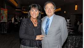 Honey and Barry Sherman, Chairman and CEO of Apotex Inc., are shown at the annual United Jewish Appe