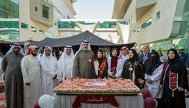 HE the Minister of Public Health Dr Hanan Mohamed al-Kuwari attends the Qatar National Day celebrati