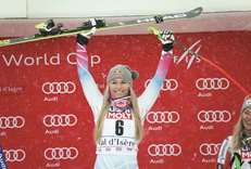 Triumphant Vonn in perfect riposte