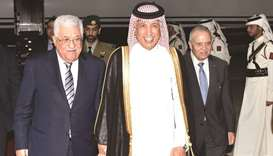 Abbas arrives on working visit