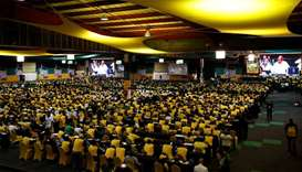 ANC members and delegates attend the 54th National Conference of the ruling African National Congres