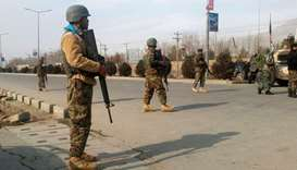 Militant attack ongoing at Kabul intelligence training centre: ministry
