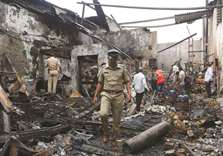 12 killed as Mumbai shop goes up in flames