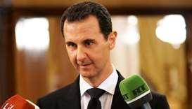 Assad says France sponsors terrorism, cannot talk about peace