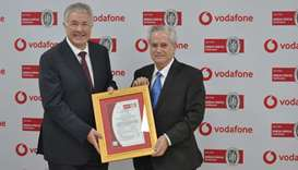 Vodafone Qatar receives global information security re-certification