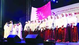 Expats turn up in thousands for Qatar National Day events