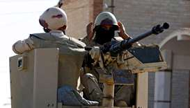 Egyptian military kills 52 militants in Sinai: statement