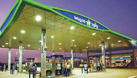 Woqod fuel station