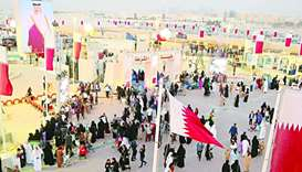 Darb Al Saai witnessed special activities this year, the most important of which was the 'March of F
