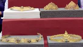 Looted Angkor jewellery returned to Cambodia