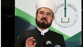 Ali al-Qaradaghi, Secretary-General of the International Union for Muslim Scholars (IUMS), speaks du