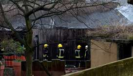 Firefighters douse blaze at London Zoo, aardvark missing