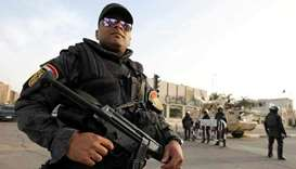 Egypt security forces kill nine suspected militants in raid: ministry