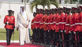 His Highness the Emir in Ghana