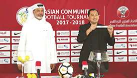 Asian Communities tourney draw held