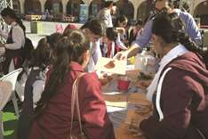 Students attend workshops at Second Mahaseel Festival