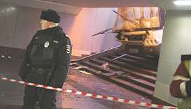 Bus crashes into Moscow underpass, killing four