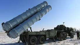 S-400 missile system.