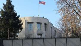 The US Embassy in Ankara, Turkey