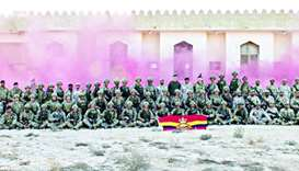 Qatar, UK military academies hold joint exercise