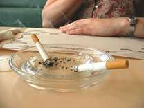 Smoking during pregnancy may harm offspring