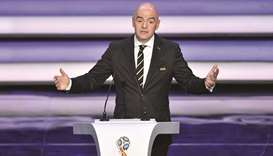 2022 World Cup very important for Asia, says FIFA boss Infantino