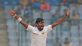Lakmal vomits on field, Delhi may lose winter tests