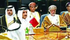 Emir Participates in Opening Session of 38th GCC Supreme Council Summit