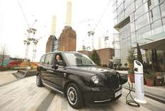 Black cab turns green as all-new electric London taxi launches