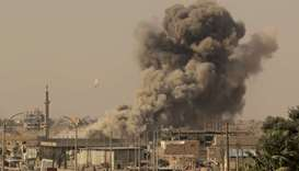 Russian air strikes kill 21 civilians in east Syria