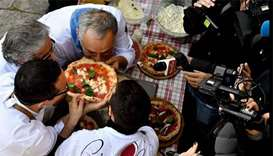Naples pizza twirling wins Unesco 'intangible' status