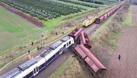 41 injured after train derails in Germany