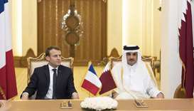 Qatar, France sign pacts to boost co-operation