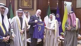 Qatar offers Kuwait chance to host Gulf Cup