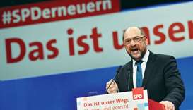SPD agrees to talks with Merkel's party