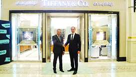 Alfardan Jewellery, in partnership with Tiffany & Co, has celebrated the official re-opening of its