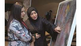 Exhibition featuring the cultural heritage of Qatar