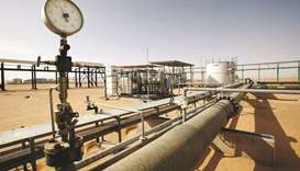 A general view of the Sharara oilfield