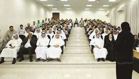 NHRC holds awareness event for Qatar Steel employees