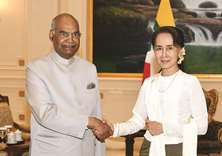 Myanmar, India sign pacts to strengthen ties