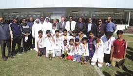 SIS wins U-12 and U-14 inter-school tourney