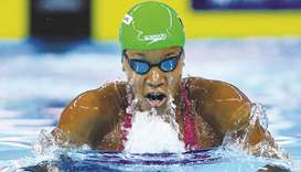 Alia Atkinson of Jamaica