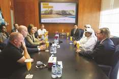 Dutch FA delegation visits Aspetar