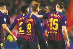 Barca visit Levante with Dembele in spotlight again