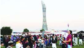 Aspire QND festivities start with Al-Adaam relay's grand finale