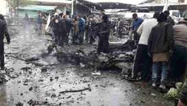 Car bomb kills 8 people in Syria's Afrin: monitor