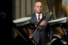 Whitaker treading lightly after outcry over appointment