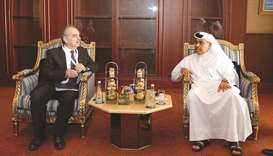 Industry minister highlights investment options in Doha