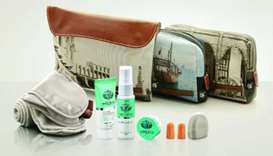 "The amenity kits contain a ""molecular innovation"" lip balm from Italian cosmetic brand Castello Mont"